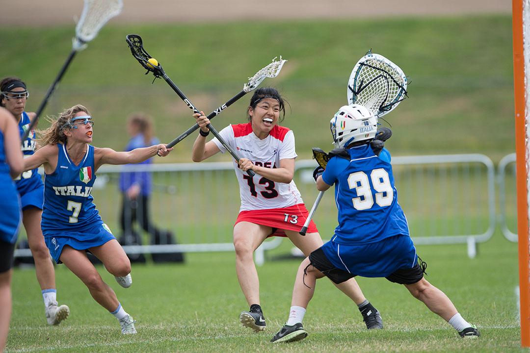korea versus italy women's lacrosse